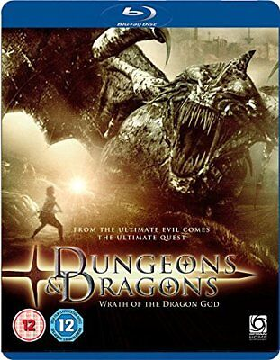Dungeon and Dragons: Wrath Of The Dragon God [Blu-ray] [DVD][Region 2]