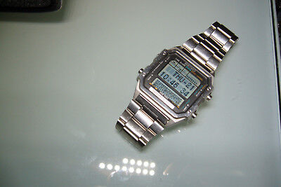 Seiko Quartz  Sports 100  Display Matrix  Lcd Digitale Vintage.