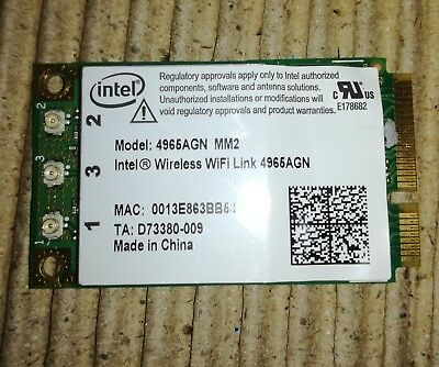 Intel Wireless WiFi Link 4965AGN WLAN-Modul