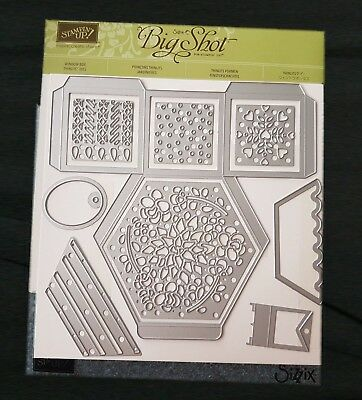 "Stampin Up! Big Shot Framelits Formen ""Fensterschachtel"" , (Sizzix)"