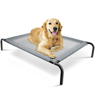 Elevated Dog Bed Lounger Sleep Pet Cat Raised Cot Hammock For Indoor