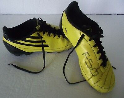 f792e021b Adidas F50 Mens Soccer Cleats Shoe Size 5 Yellow/Black #101824413 Athletic  Gear