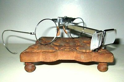 Antique Bausch And Lomb Dualoupe Magnifying Jewelers Watch Loupe Vtg B&L Ray Ban