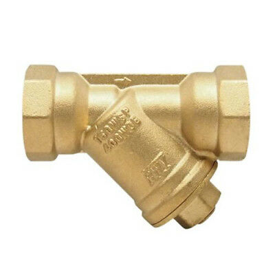 Red-White 380AB 1 inch Low Lead Brass Threaded Y-Strainer