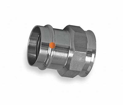 Viega 85090 304 Stainless Female Adapter-Press x FPT-for 3/4 inch Tube Size