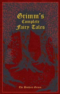 NEW Grimm's Complete Fairy Tales By The Brothers Grimm Leather Bound Book