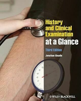 NEW History and Clinical Examination at a Glance By Jonathan Gleadle Paperback
