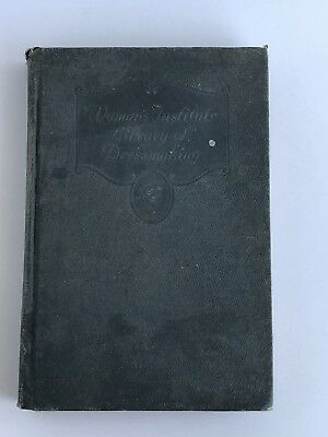 Womans Institute Library of Dressmaking 1923 Mary Brook Picken Hardcover Vintage