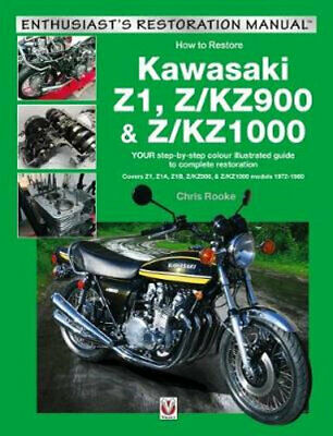 NEW Kawasaki Z1, Z/KZ900 & Z/KZ1000 By Chris Rooke Paperback Free Shipping
