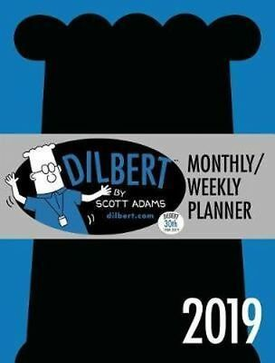 NEW Dilbert 2019 Monthly/Weekly Planner Diary Diary Free Shipping