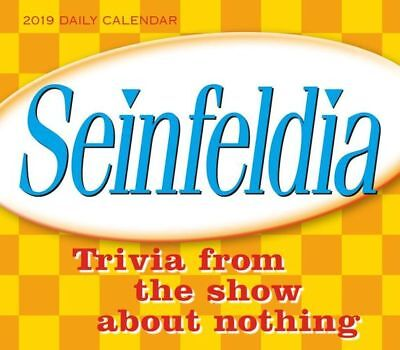 NEW Seinfeldia Trivia from the Show about Nothing 2019 Boxed Daily Desk Calendar
