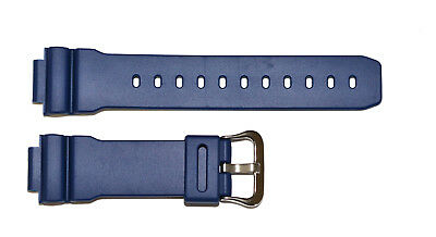 Original Casio G-Shock DW-9052-2V DW9052-2V navy blue watch band strap