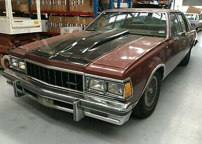 1979 79 Chevrolet Caprice Sedan Right Hand Drive V8 350 Chev Auto 6 Seat Cruiser