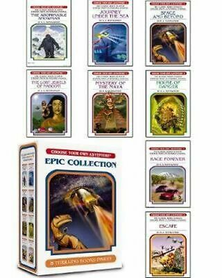 NEW Choose Your Own Adventure 1-8 Boxset By R.A. Montgomery Paperback