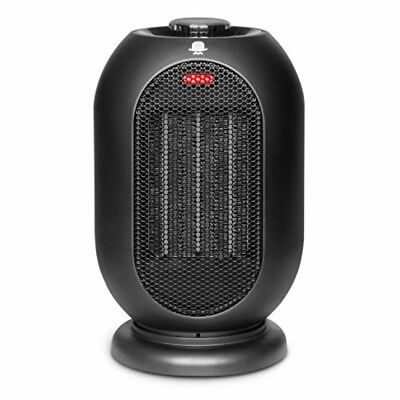 MRMIKKI 1200W/700W Space Heater for Office and Home, PTC Ceramic Portable Desk
