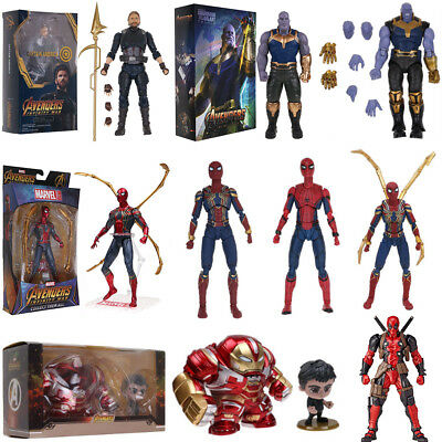 Super Luxury Marvel Avengers S.H.Figuarts Action Figure Toys Collectable W/Box