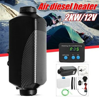 12V 2KW Air diesel Fuel Heater PLANAR for Trucks Boats Bus Car Motor-home 2000W