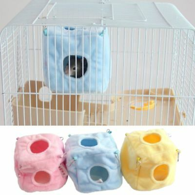 Hamster Hanging Nest Pet Cotton Hammock Bird Squirrel Cage House Small Animal