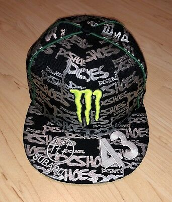 "sports shoes cb416 79006 ... Monster Subaru Rally Team USA Fitted Hat Monster DC Shoes Ken Block 43  7"" ..."