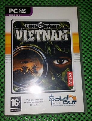 Line Of Sight Vietnam Pc CD Rom Game