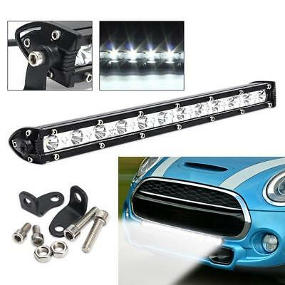 13inch 36w Led Light Bar Work Driving Fog Truck SUV UTE Jeep Ford Off road