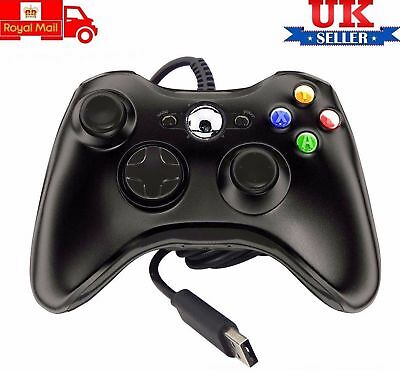 2018 USB Wired Xbox 360 Controller Game Pad For Microsoft Xbox 360 PC Windows OY