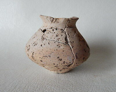 Prehistoric cup (73 mm). Trypillian culture. Ukrainian artifacts.