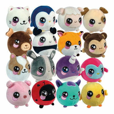 UK Squeeze Animal Plush toy Kids Slow Rising Squeezamals Stress Reliever Gifts