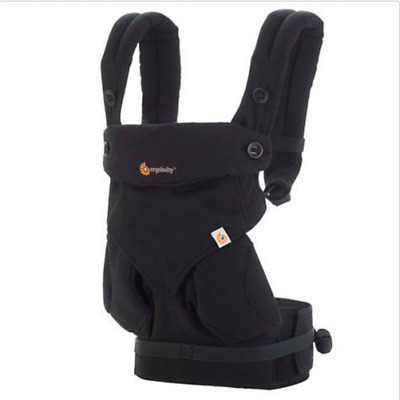 Ergo 360 Baby Four Position  carrier Dusty black New  .