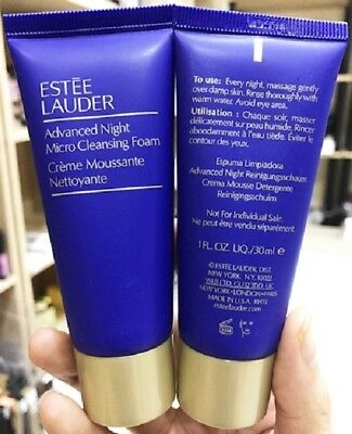 ESTEE LAUDER ADVANCED NIGHT créme moussante nettoyante micro cleansing 30 ml