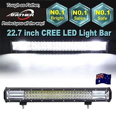 23inch CREE LED Light Bar Spot Flood Combo Driving Lamp Offroad 4WD 4x4 JEEP SUV