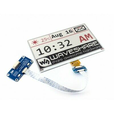 Waveshare 7.5inch 640x384 E-Ink display HAT for Raspberry Pi three-color WS13505