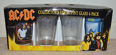AC/DC 4-Pack Collector's Series Pint Glasses