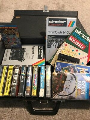 ZX Spectrum Games And Case Collection 1980s Sinclair