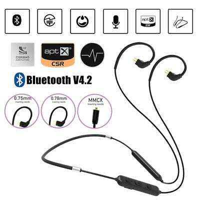 TRN BT3 Wireless Bluetooth 4.1 APTX Cable With 2 PIN Interface Connectors 0.78mm