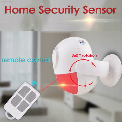 F484 Home Security System Security Alarm Protable PIR 120DB Office Drawer