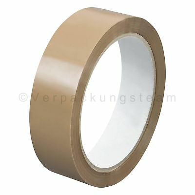 (Eur 0,01 / M) Adhesive Tape Packing Narrow Opp-909nn 25 mm x 66 M Low Noise