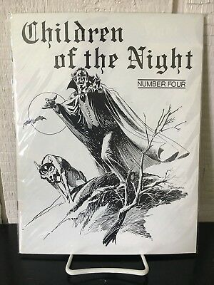 CHILDREN OF THE NIGHT Magazine - Issue Number Four - 47 Page Vintage Film Zine