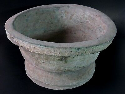 Very Old & Most Rare Antique Bronze Pot Good Patina Cheap Don't Miss