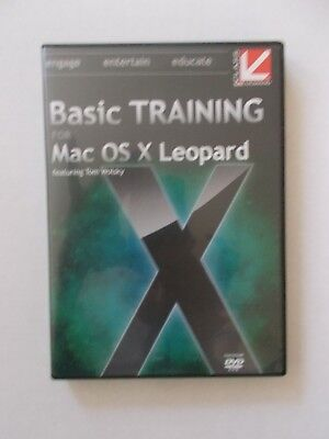 - Basic Training For Mac Os X Leopard [Dvd-Rom] Brand New [Now 59.75]
