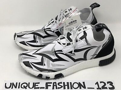 the best attitude d633b f8c98 ADIDAS NMD RACER X Juice Us 9.5 Uk 9 43 43.5 Consortium Friends And Family  White