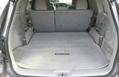 New Oem 2013-2018 Toyota Highlander Gray Cargo Mat Models W/ Third Row Seat