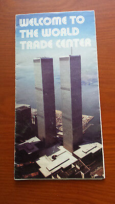 World Trade Center - Twin Towers - 9/11 - WTC - Welcome Informational Brochure