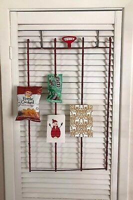 RARE Vintage Hanging Tom's Chip Picture Metal Store Display Rack – 51 Bag EUC