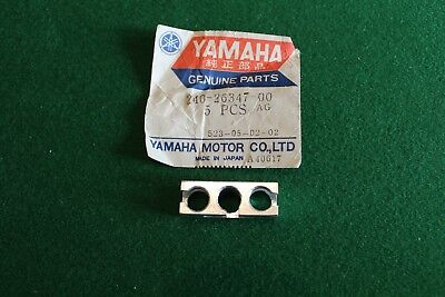Yamaha TD3 TR3 TZ250 TZ 350 front brake cables balancer housing block joint