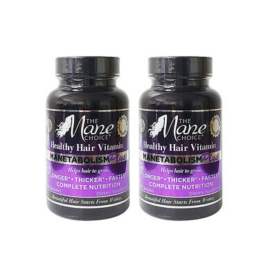 Hair Growth Vitamins >> The Mane Choice Manetabolism Plus Healthy Hair Growth
