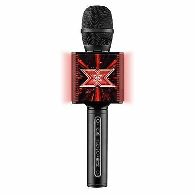 The X Factor Bluetooth Echo Function Portable Microphone Led Light Mode