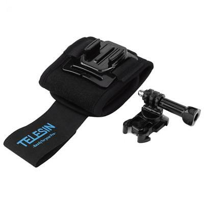 1pc Black Wrist Strap Mount for GoPro Hero 6 5 4 3+ Accessory Hand Arm Belt New