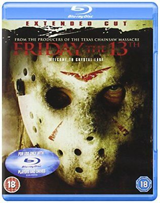 Friday The 13th: Extended Cut [Blu-ray] [2009] [DVD][Region 2]