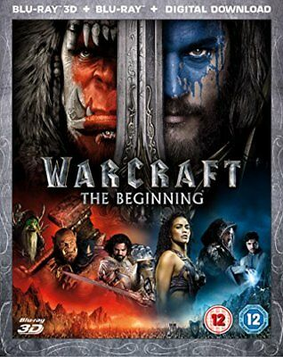 Warcraft: The Beginning (Blu-ray 3D + Blu-ray + Digital Download) [2016] [DVD]